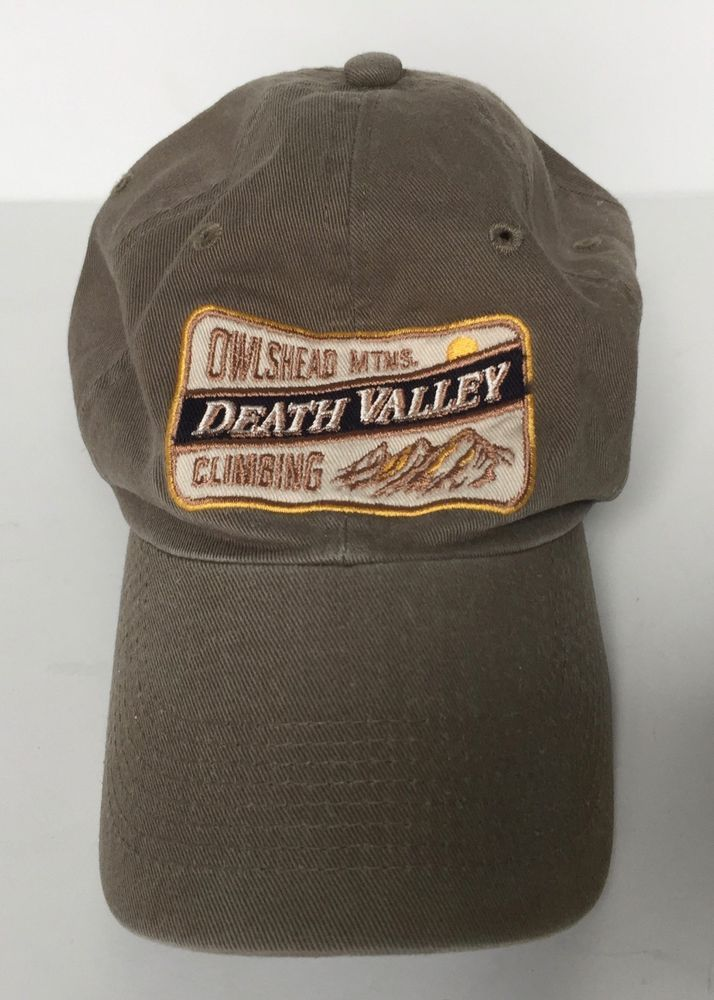 Death Valley National Park Owlshead Mountains Climbing Baseball Cap Hat  Khaki  fashion  clothing  shoes  accessories  mensaccessories  hats (ebay  link) a17f3f9805dd