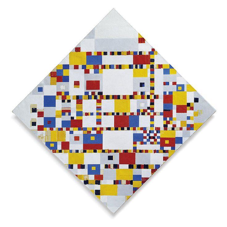 Piet Mondriaan Victory Boogie Woogie - Piet Mondrian - Wikipedia, the free encyclopedia