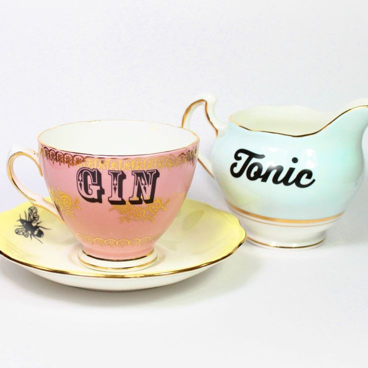Gin and Tonic tea set.