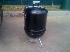 Mini Smokey Joe Smoker - Grills and Smokers - The Hot Pepper