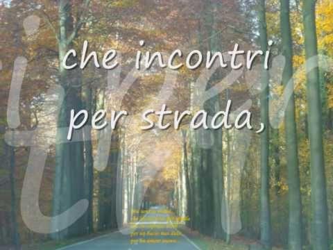 Fabrizio de Andre' - Canzone di un amore perduto - (Testo)