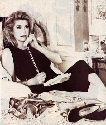 Catherine Deneuve by Gilles Bensimon