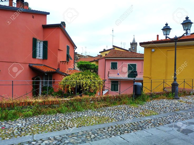 Italy, Sarzana, View Of A Street 2 Stock Photo, Picture And Royalty Free Image. Pic 14841341.