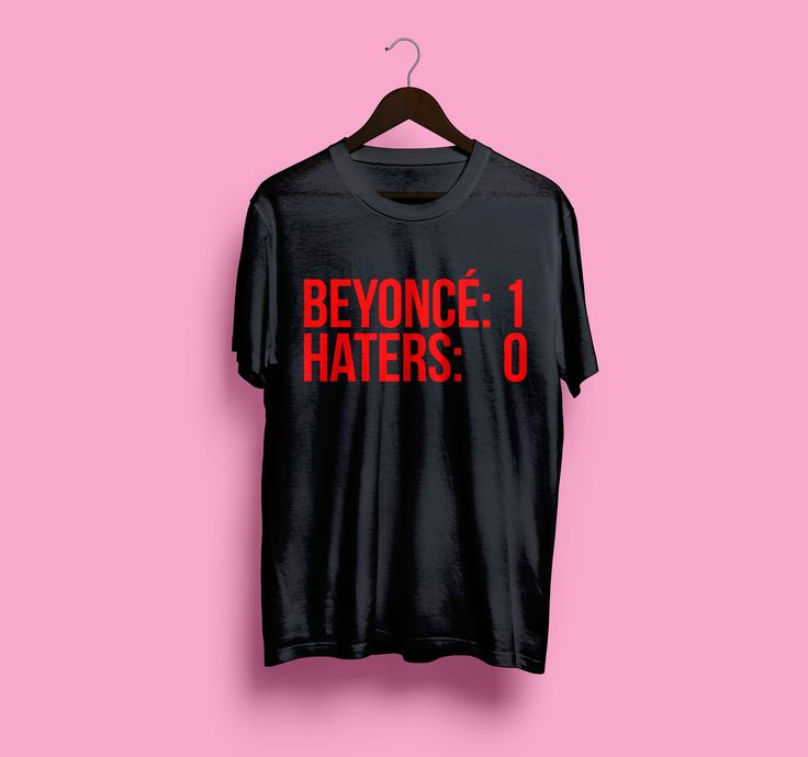 Queen Bey VS. Haters #beyonce #fomation Now available on https://teespring.com/beybeyhaters