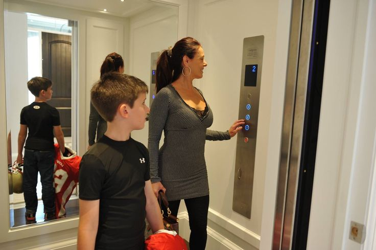Hauling that heavy sports equipment can be hard after the kids play a big game, give them a break and use an elevator!