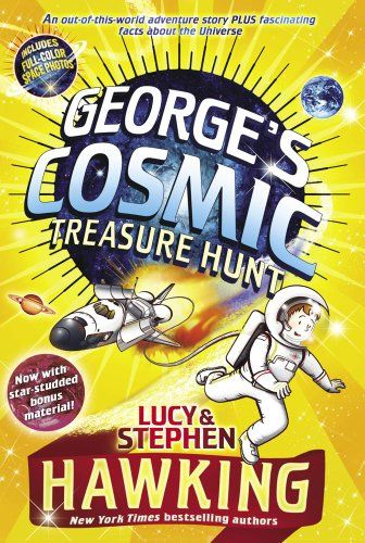 George's Cosmic Treasure Hunt by Lucy Hawking,http://www.amazon.com/dp/1442421754/ref=cm_sw_r_pi_dp_nqdgsb0XDR4ZKCTS