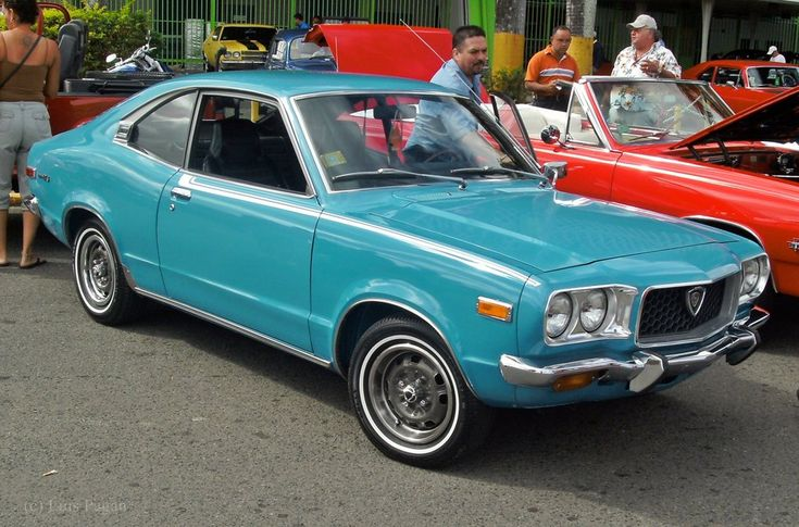 1973 Mazda RX3 Coupe My parents had one.