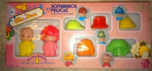 PIN Y PON DE famosa sombreros y pelucas in Otros | eBay