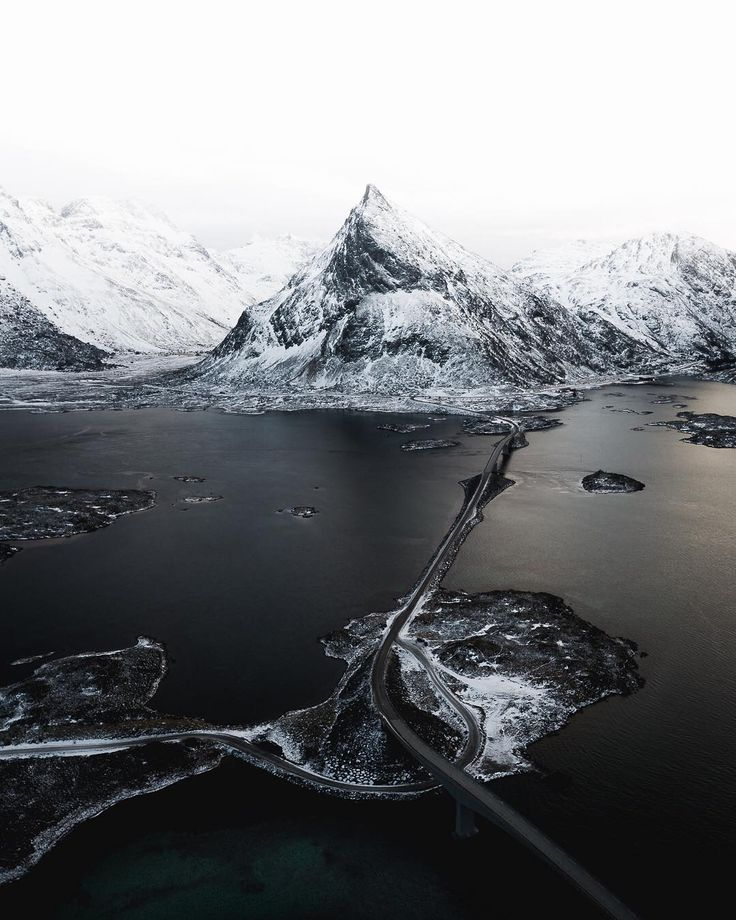 Norway and Iceland From Above: Drone Photography by Elmoon Iraola #aerial #photography