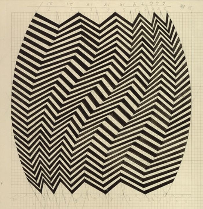 Flashback: Bridget Riley at the Walker Art Gallery, Liverpool | Art and design | The Guardian