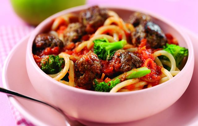 Beef and Bramley Meatballs. A delicious way to get more of the kids ...