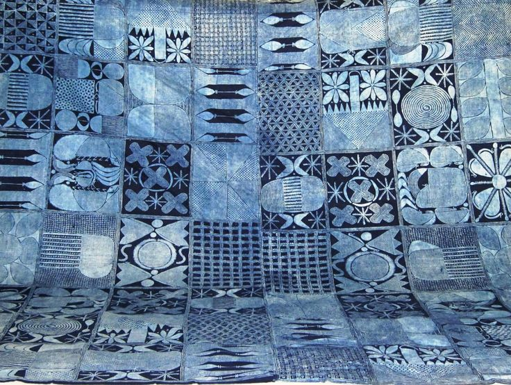 Yoruba Indigo Dyed Cloth From Africa This Is The Real