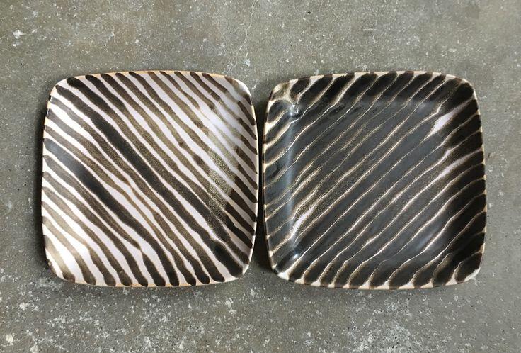Stripe pattern Ruutu Dish