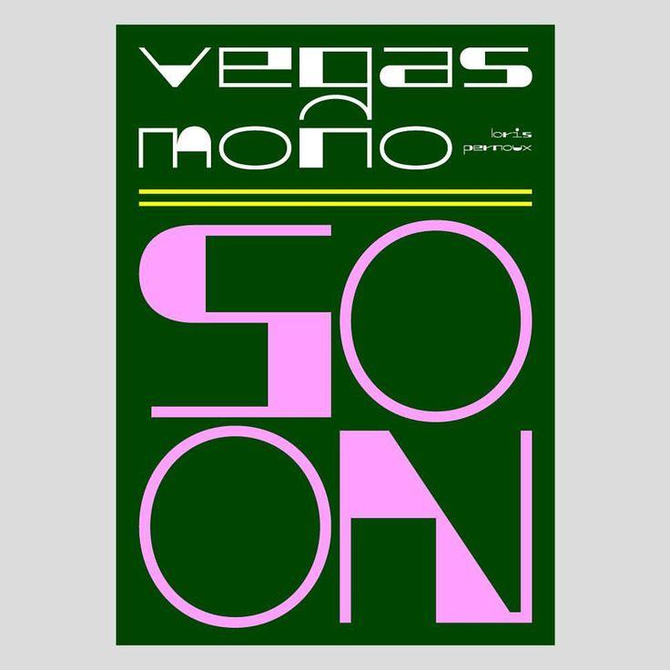 "Gefällt 63 Mal, 5 Kommentare - Loris Pernoux (@loris_pernoux) auf Instagram: ""VegasMono preview 2! - - #lorispernoux #coming #soon #vegasmono #typography #letters #lettering…"""