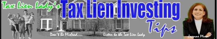 Tax Lien Lady's Inner Circle:  Are you concerned about the economy? Are you sick and tired of watching the money in your retirement account disappear? Want to learn how you can prepare for what's ahead, protect your retirement, and profit from high yielding, real estate guaranteed, U.S. tax lien certificates.  http://taxlieninvestingtips.com/2012/05/10/tax-lien-ladys-inner-circle/
