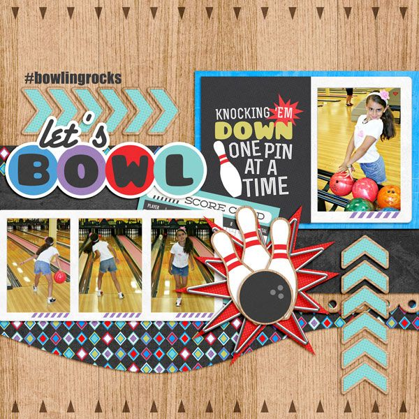 Ten Pin Kit from Peppermint Creative | page by @Kirstie Malley Malley Malley Malley Ibrahim #bowling