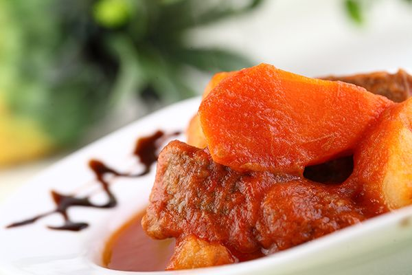 Beef with Potato in tomato sauce http://PicanhaBBQ.com