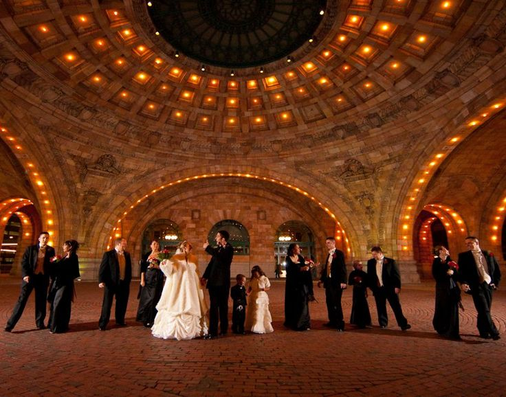 In The Rotunda At Pennsylvanian Your Dream Wedding Photography Is Affordable OvationImages Bride GroomPittsburghWedding VenuesCelebrations