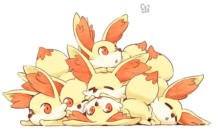 Pokemon X and Y - Fennekin's!!! Awww so cute! Who wouldnt want to play with them!