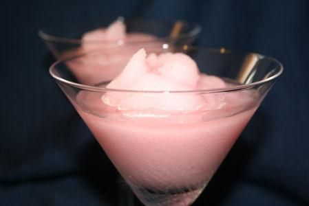 Skip and go naked  2/3 cup beer , cold  2/3 cup frozen pink lemonade concentrate  1/4 cup vodka  Directions:  Fill a blender half way with ice. Pour in beer, lemonade, and vodka. Blend well and serve.