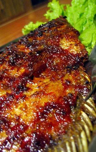 Grilled Fish - ikan bakar kecap