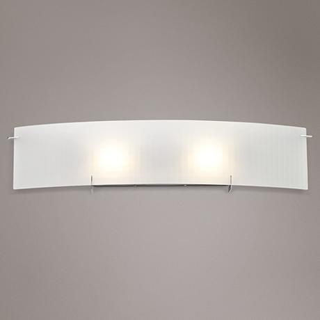 Image Gallery Website Soho Wide Checkered Glass Bathroom Light Fixture