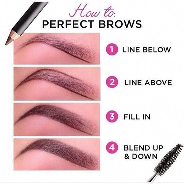 How To Do Your Eyebrows   Shape My Eyebrows   Shaping ...