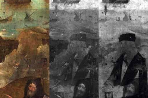 Босх. Возвращение домой: выставка века в Хертогенбосе. Исследование при помощи рентгена