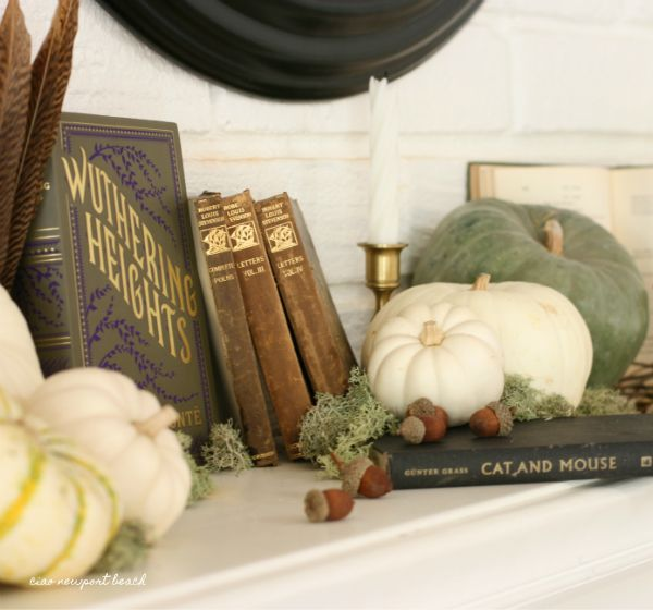 How to add a little vintage touch to your Halloween décor with perfectly  spooky antique books! Wuthering Heights is the ultimate haunting love story and one of my favorite novels.