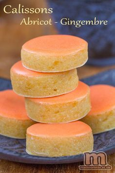 Calissons abricot - gingembre - Macaronette et cie