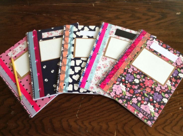 Diy white board notebooks they are amazing i saw for Back to school notebook decoration ideas