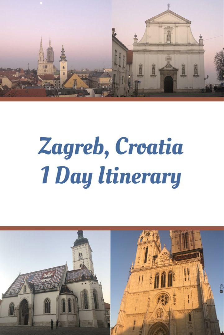 One Day In Zagreb Croatia Zagreb Croatia Plitvice Lakes National Park
