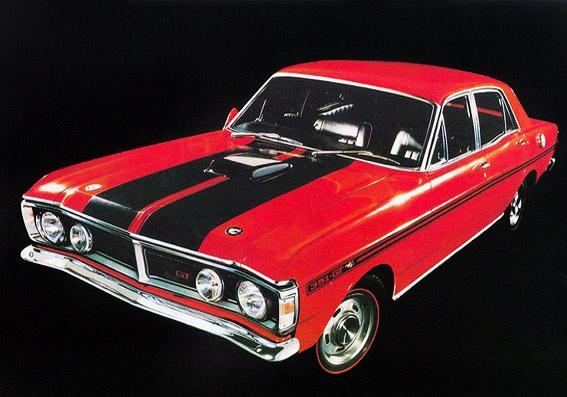 """1971 Ford Falcon XY """"GT-Phase III"""" (AU)"""