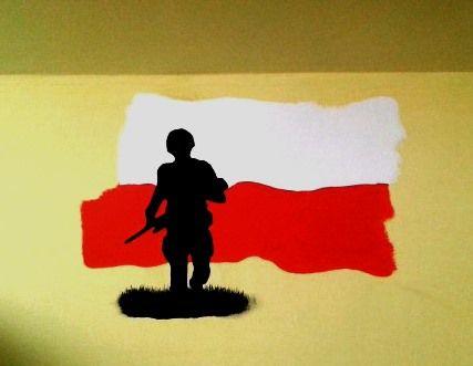 Polska wall painting