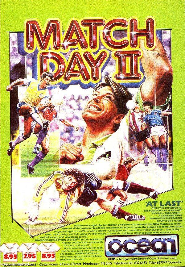 Match Day II, quin gran joc de futbol!!!