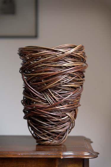 Lizzie Farey | Red Woven Vase, 2005