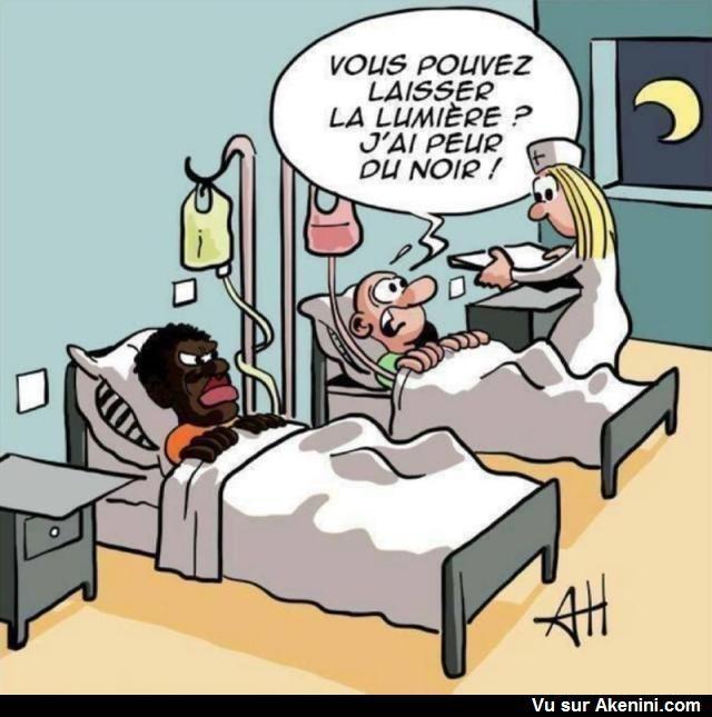 La peur du noir ! - Can you leave the light on, I am afraid of the dark!