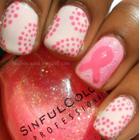Haute Lacquer: Breast Cancer Awareness