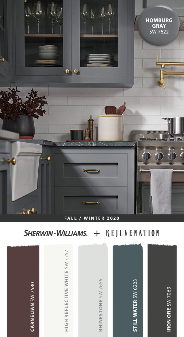 Gray Paint Colors For Kitchen Cabinets, Best Sherwin Williams Gray Paint Color For Kitchen Cabinets