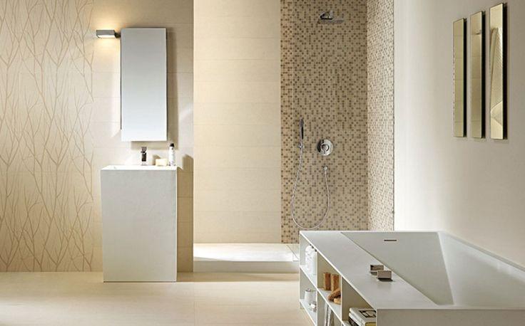 Pioggia-Doccia-Con-Mattonelle-Idee-Per-Moderno-Bagno-Progettazione.jpg (973×606)