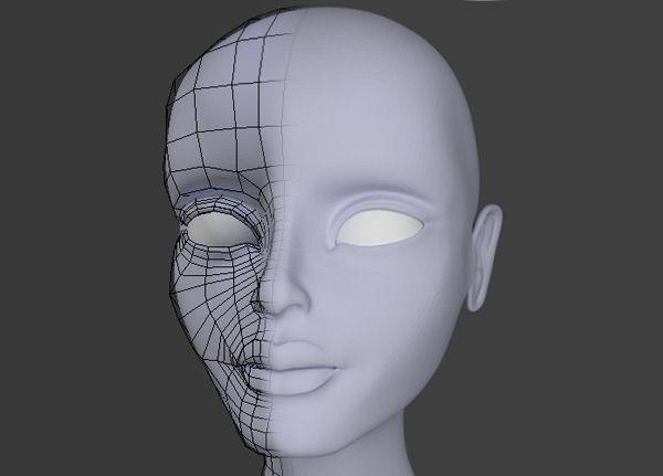 Female Character Modeling In Blender Part 1 : Best images about d tutorials on pinterest models