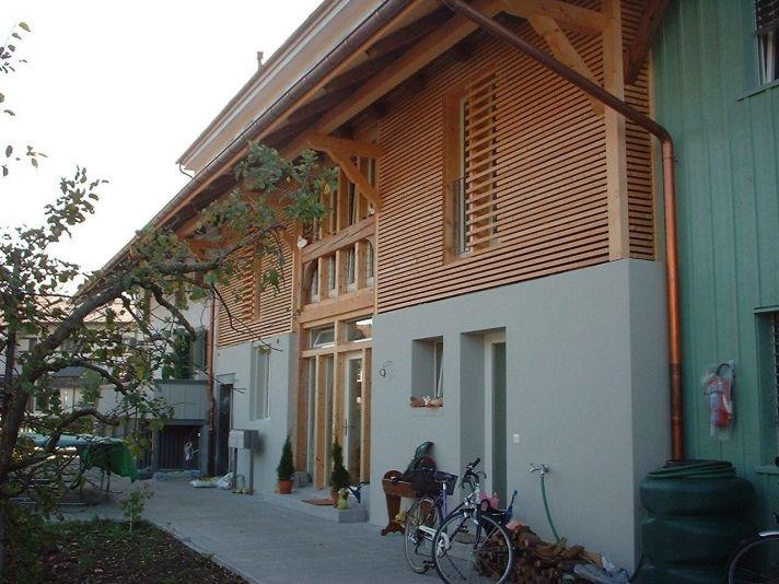 Fassadengestaltung einfamilienhaus beispiele grün  Die besten 25+ Hausfassade farbe Ideen auf Pinterest | Pantone ...