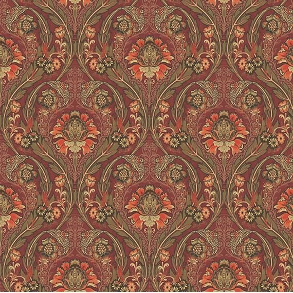 Classic Damask Peel And Stick Wallpaper Red And Gold Removable Etsy Peel And Stick Wallpaper Wallpaper Roll Vinyl Wallpaper