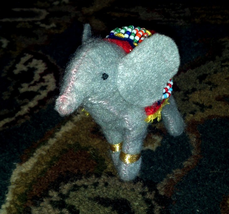 Stuffed elephant <3