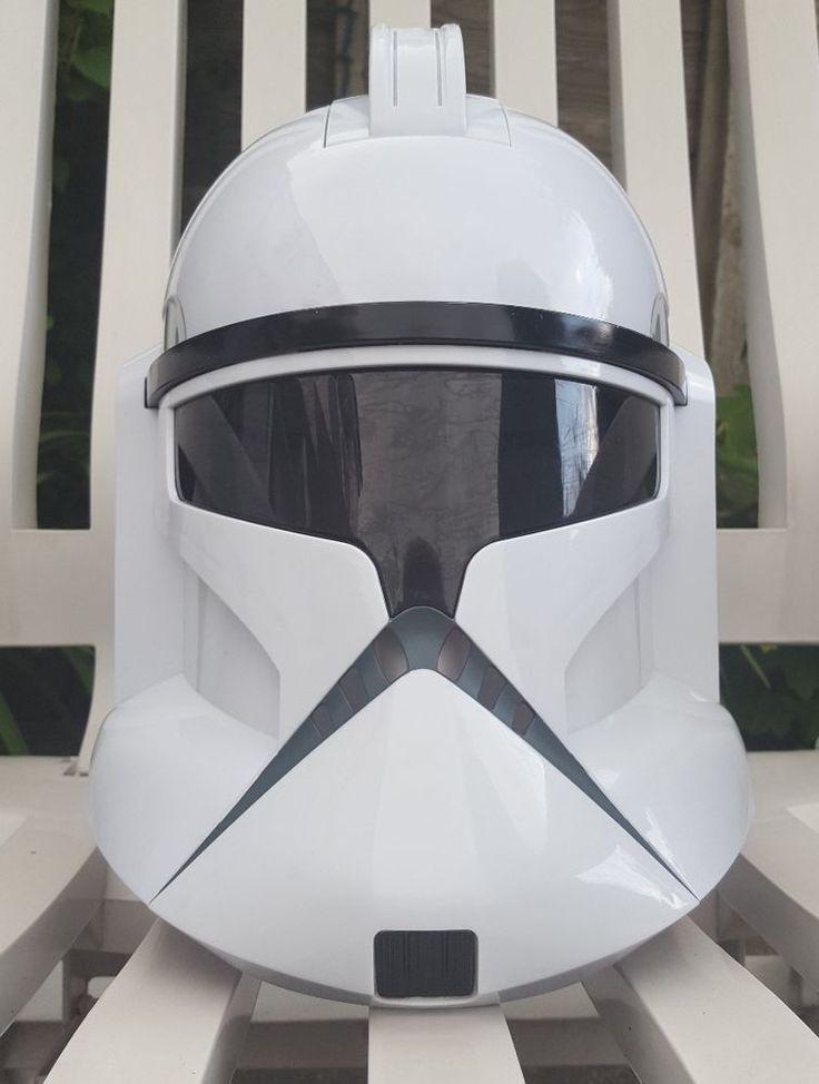 2008 Hasbro STAR WARS Clone Storm Trooper Voice Changer Talking Helmet  in Collectables, Science Fiction, Star Wars | eBay!
