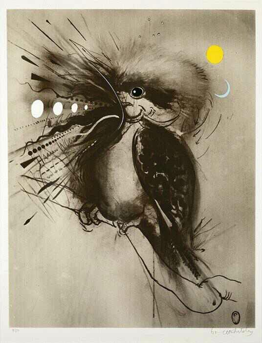 Brett Whiteley - Kookaburra