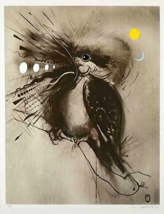 Brett Whiteley - Kookaburra