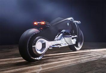 [Vidéo] Avec la moto du futur de BMW, plus besoin de porter de casque !