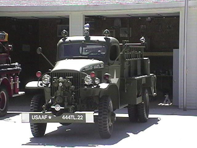 Fire Trucks of WWII | Vehicles of Victory, LLC