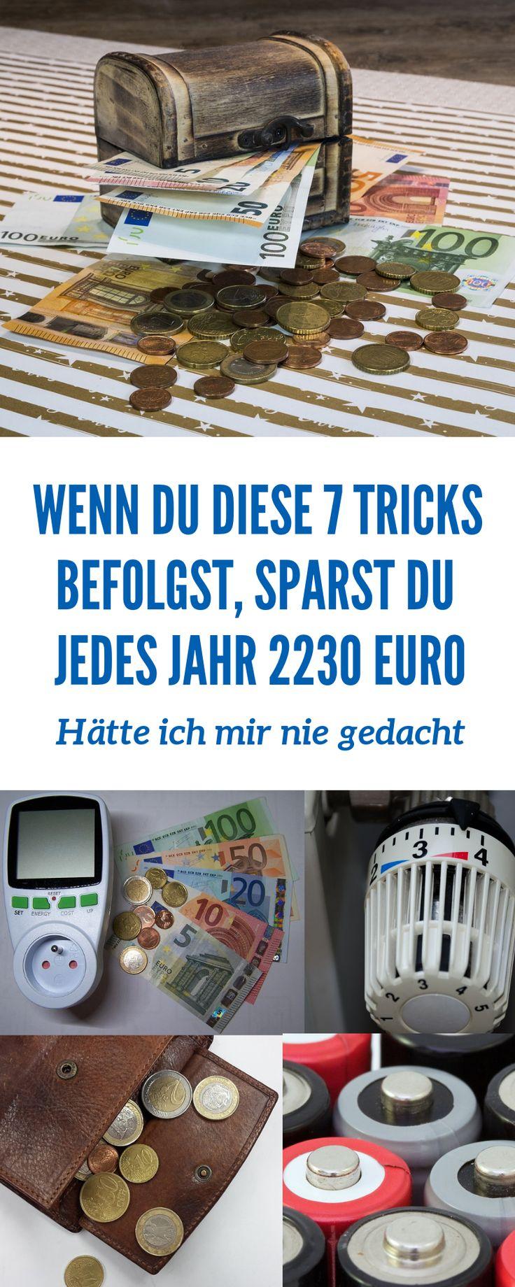 Clever 2230 Euro sparen – So geht´s